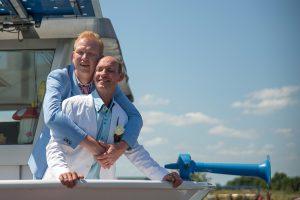 Bruiloft fotografie Limburg Huwelijks fotografie twee mannen jawoord