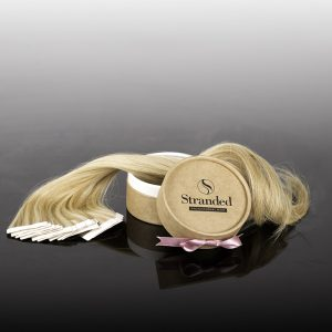 product fotografie stranded hair extensions